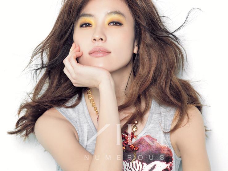 foto eun ji a pink dan seo in guk di majalah star 1