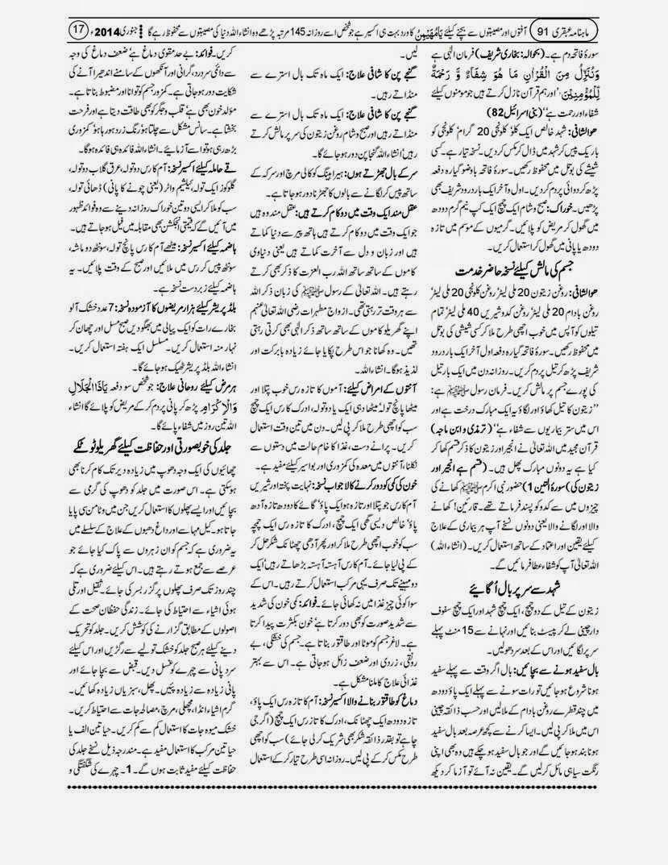 page 17 ubqari january 2014