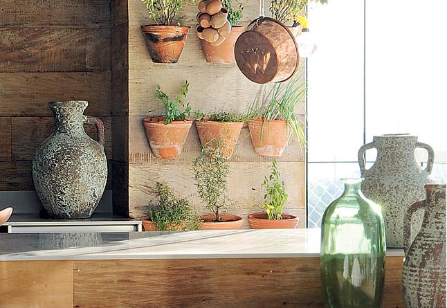 horta jardim vertical:Construindo Minha Casa Clean: 45 Hortas Incríveis na Decoração da