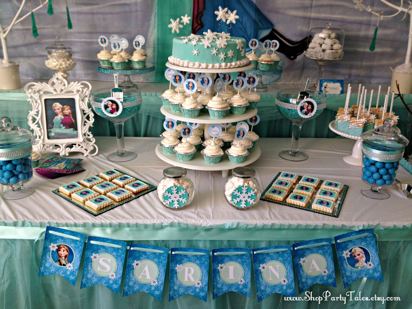 Party Tales Birthday Party A Frozen Adventure