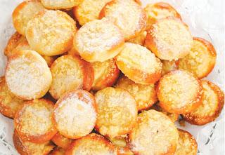Biscoitos de queijo com quinua light