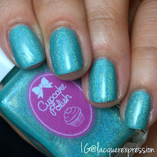 swatch of what in carnation? nail polish by cupcake polish