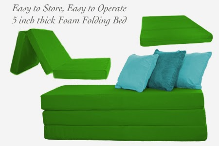 The Futon Shop Folding Foam Beds