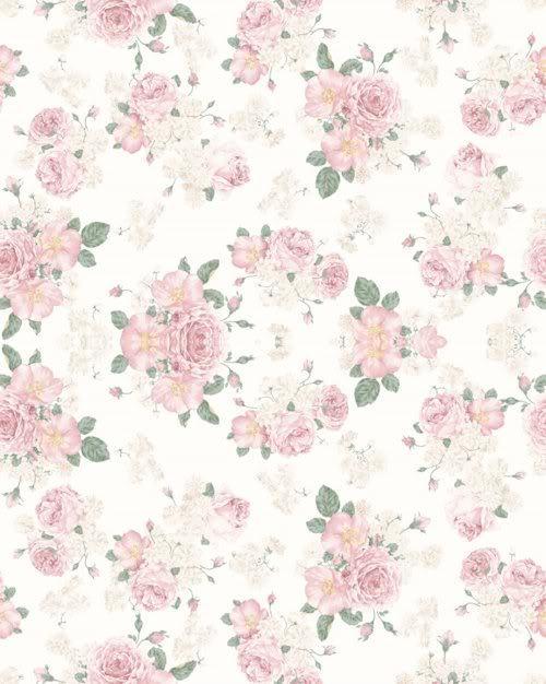 Meu Desejo: Papel de parede fofo com flores Vintage Flower Background Tumblr