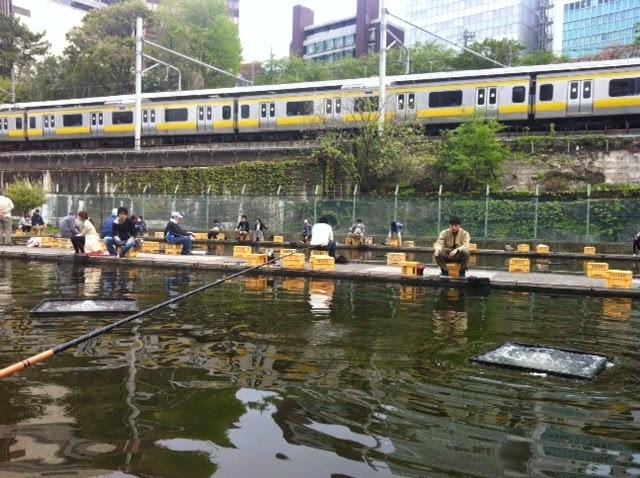 Business garden ichigaya fishing pond for Fish pond business