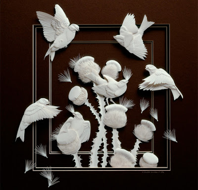Paper Sculptures Seen On www.coolpicturegallery.us