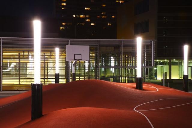 Coolest Basketball Courts Basketball Court palin...