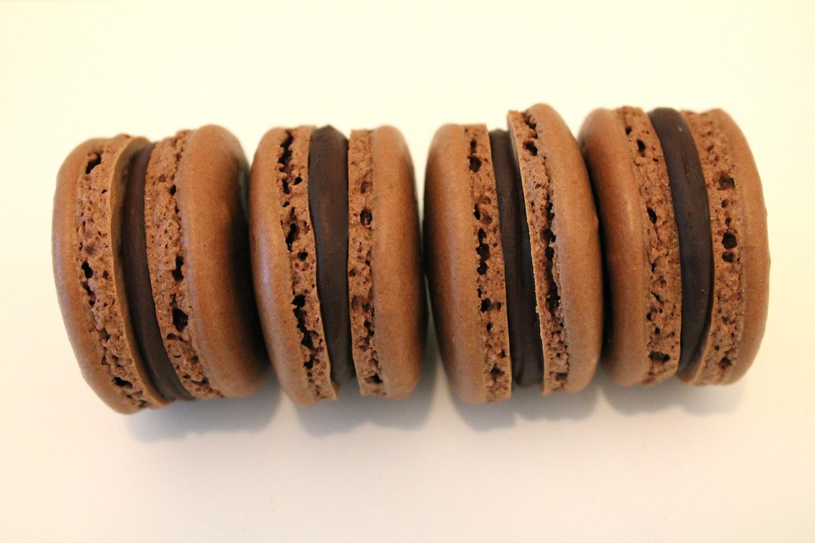 French Chocolate Macaron Recipe — Dishmaps