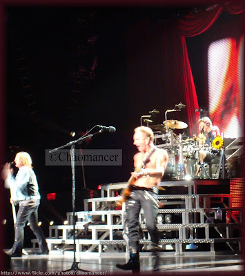 Joe, Phil, and Rick - Def Leppard - 2009