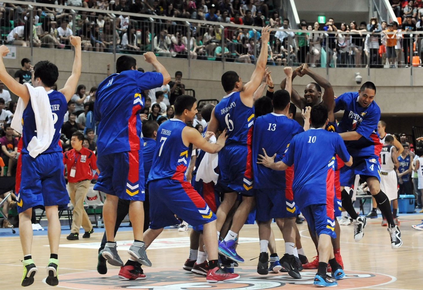 Philippines vs Japan- FIBA Asia 2013 Replay Highlights