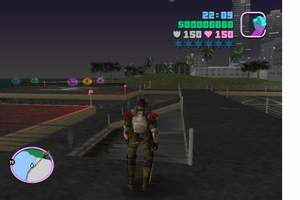 GTA Vice City Alien vs Predator-Screenshot-2