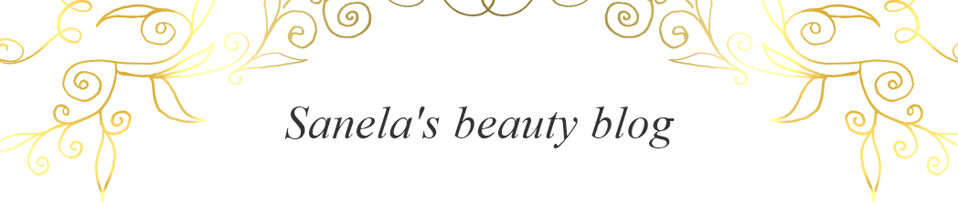 Sanela's beauty blog!