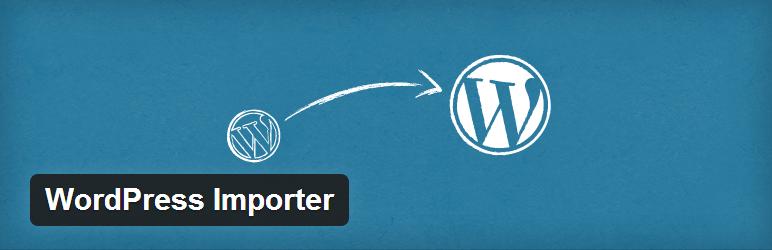 Wordpress Importer eklentisi ve kullanımı