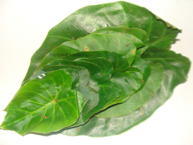 Patrode Recipe_Colocasia leaves+cooking leaves+elephant ear plant