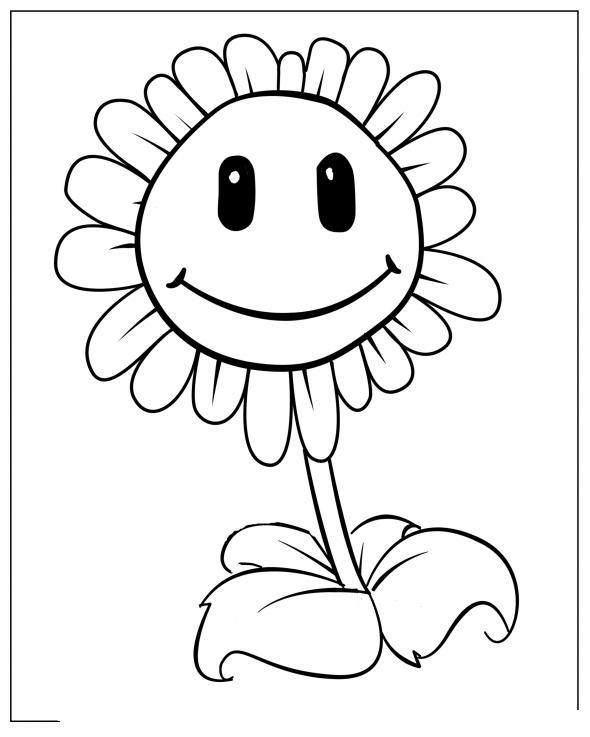 Dibujos para colorear plantas contra zombies 2 - Imagui