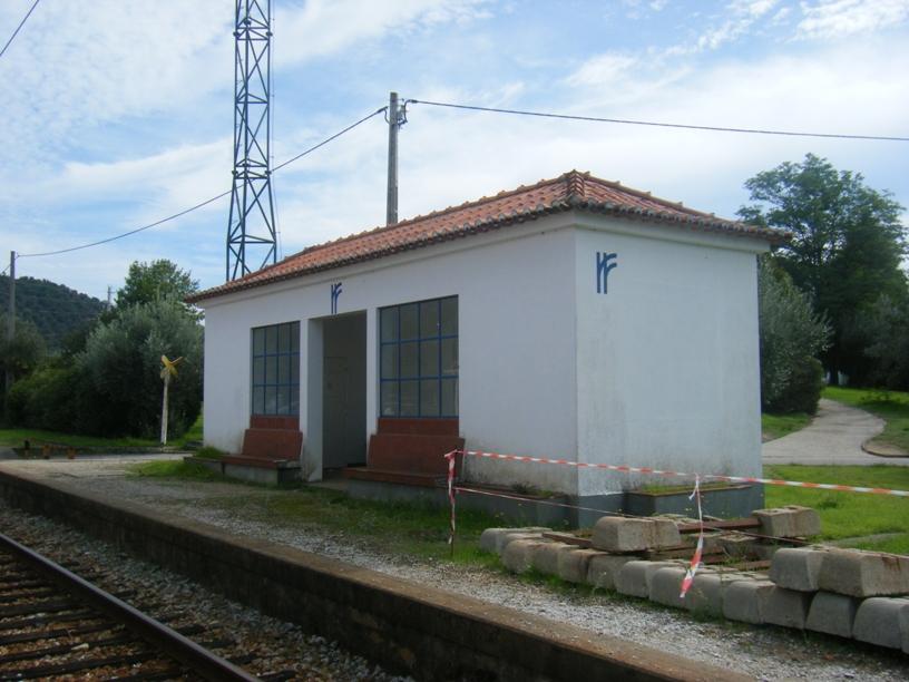 Estação da Barragem de Belver