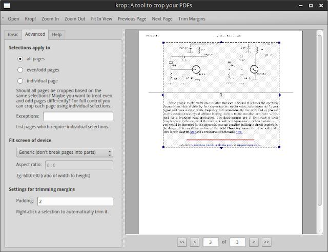 Krop PDF cropper