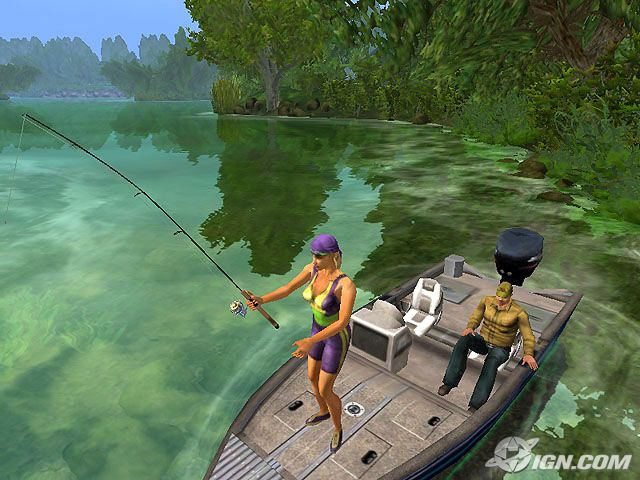 Wii u fishing game best wii u fishing game for Pro fishing games