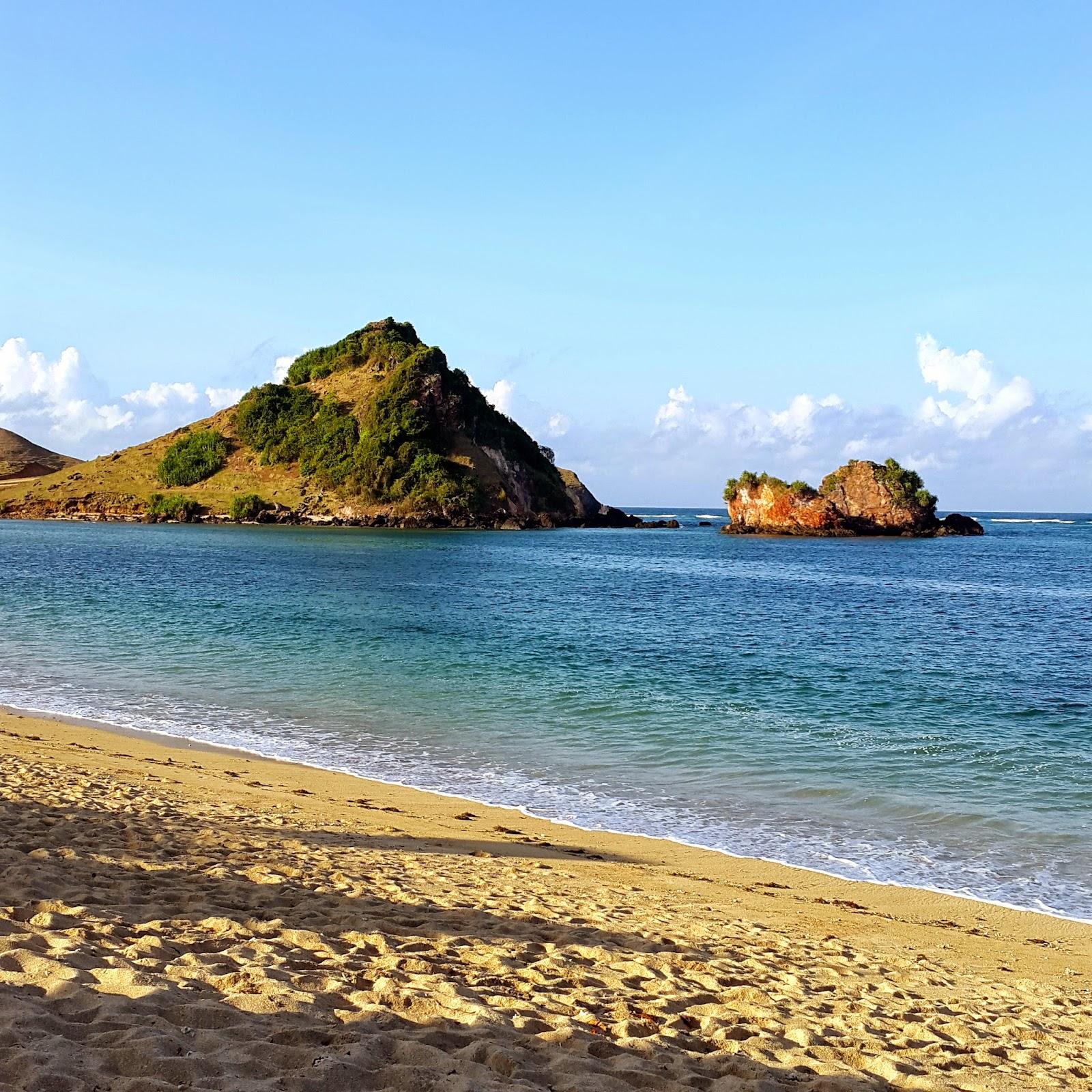 Mandalika Beach Sea Lombok Morning