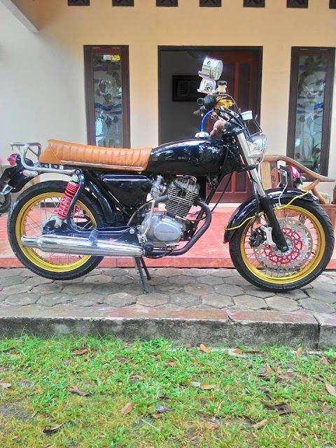 Foto Modifikasi Honda CB Kalimantan Hadir