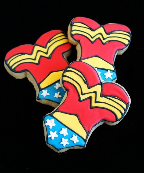 Galletas Wonder Woman