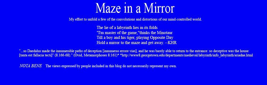 Maze in a Mirror