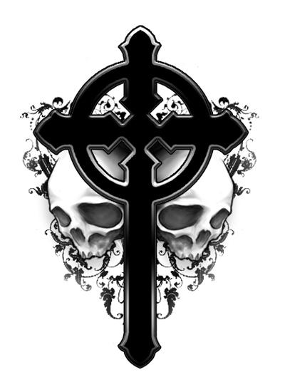 the black tattoos gothic cross tattoos. Black Bedroom Furniture Sets. Home Design Ideas