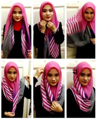 Contoh Tata Cara Hijab Modern Untuk Remaja