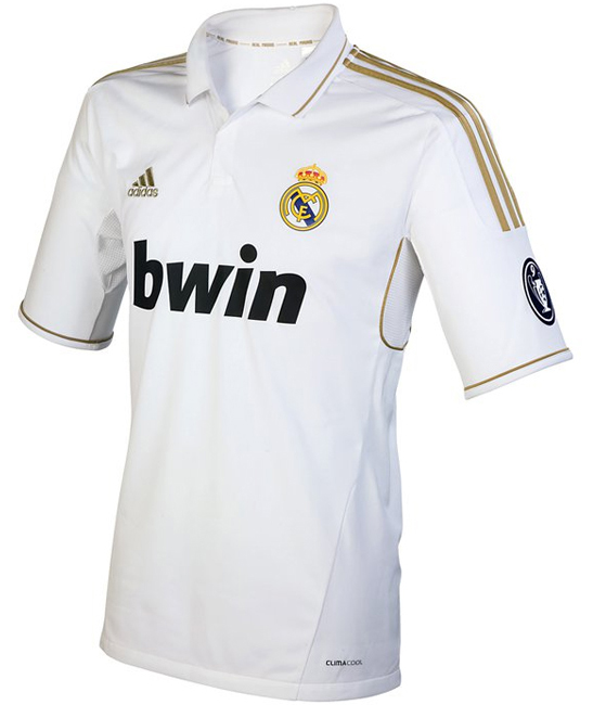 Camiseta Real Madrid Champions 2012