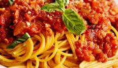 resep masakan internasional spaghetti Bolognese spesial enak, gurih, lezat