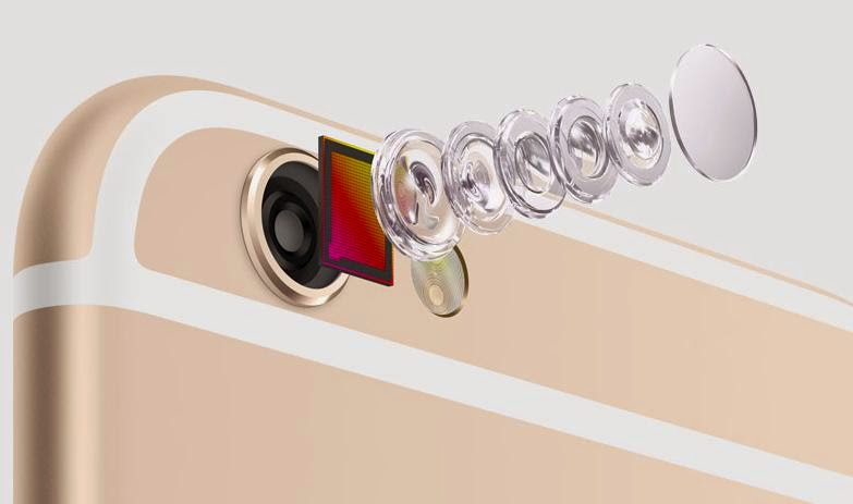 The optical image stabilization in the 6 Plus