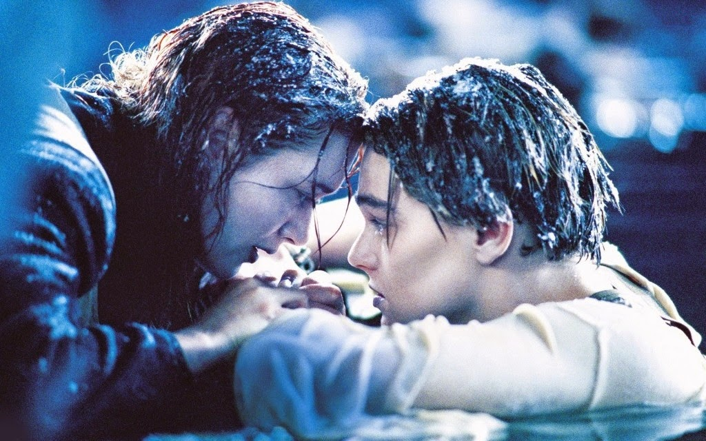 Titanic Ending Scene Kate Winslet Leonardo DiCaprio