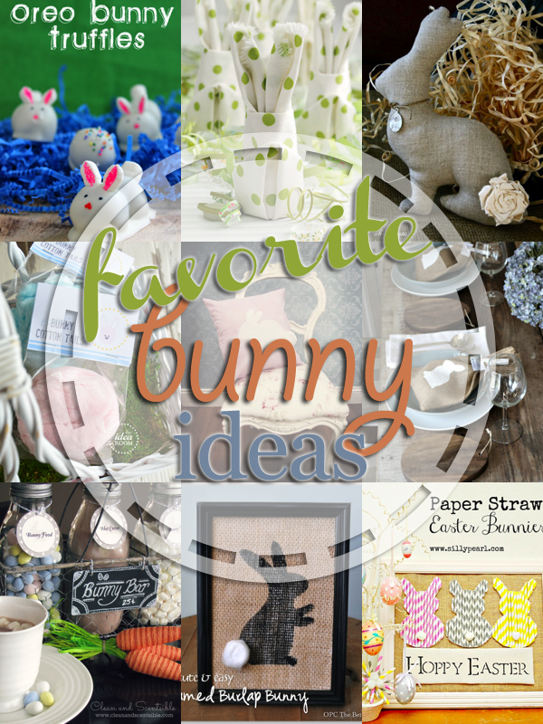 Favorite Bunny Project Ideas! Cute and easy.  entirelyeventfulday.com