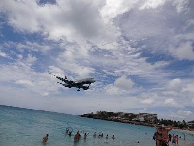 Maho Beach St Maarten Airport