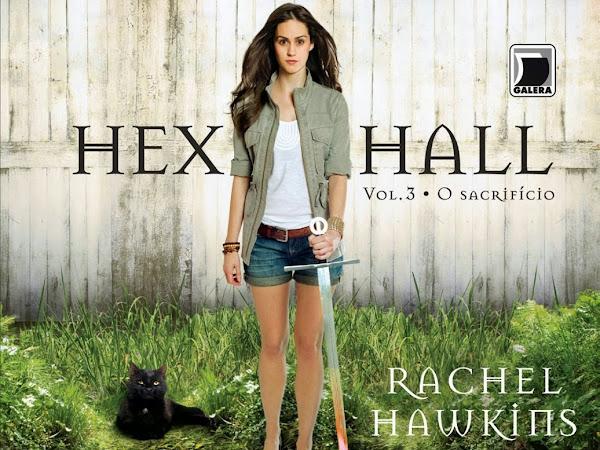 O Sacrifício, Hex Hall 3, Rachel Hawkins e Galera Record