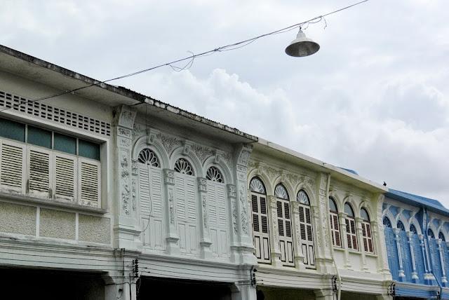Sino-Portuguese architecture in Phuket, Thailand