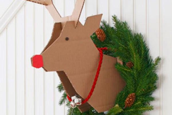Cmo hacer decoracin navidea reciclada El arte de crear