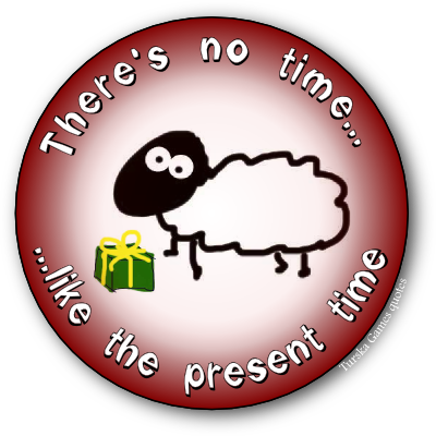in present time Note the tense of a sentence is usually determined by the time adverbs present in  it time adverbs used with the simple present tense.