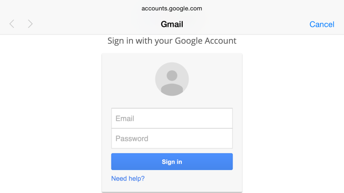 Gmail IOS 8.3