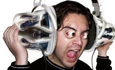 loud music image