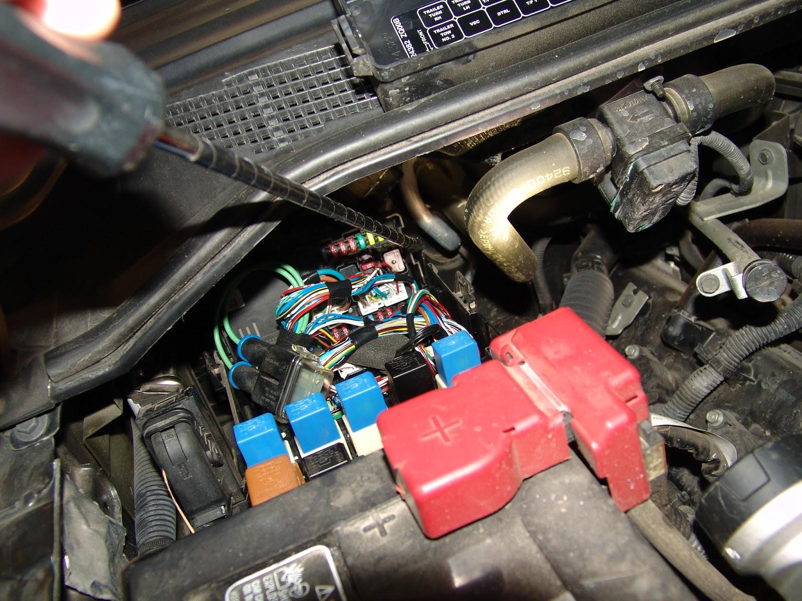Nissan Titan Running Lights Not Working