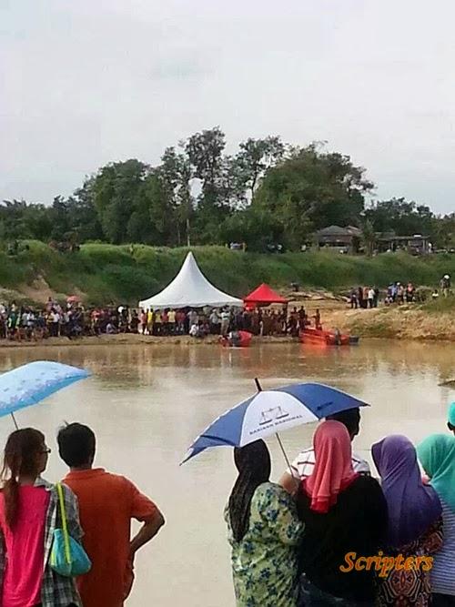 Lapan Pelajar Maut Dalam Tragedi Lemas Di Sungai Muar, Segamat