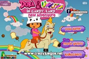 Jugar Dora And Unicorn