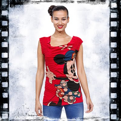 camisetas mujer Desigual Disney