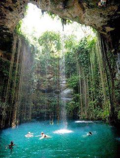 Cenote Riviera Maya, cancún México