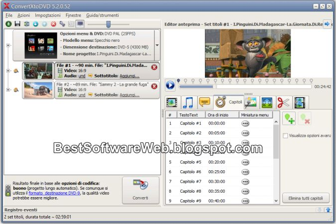 VSO ConvertXtoDVD 5 Download Free for Windows