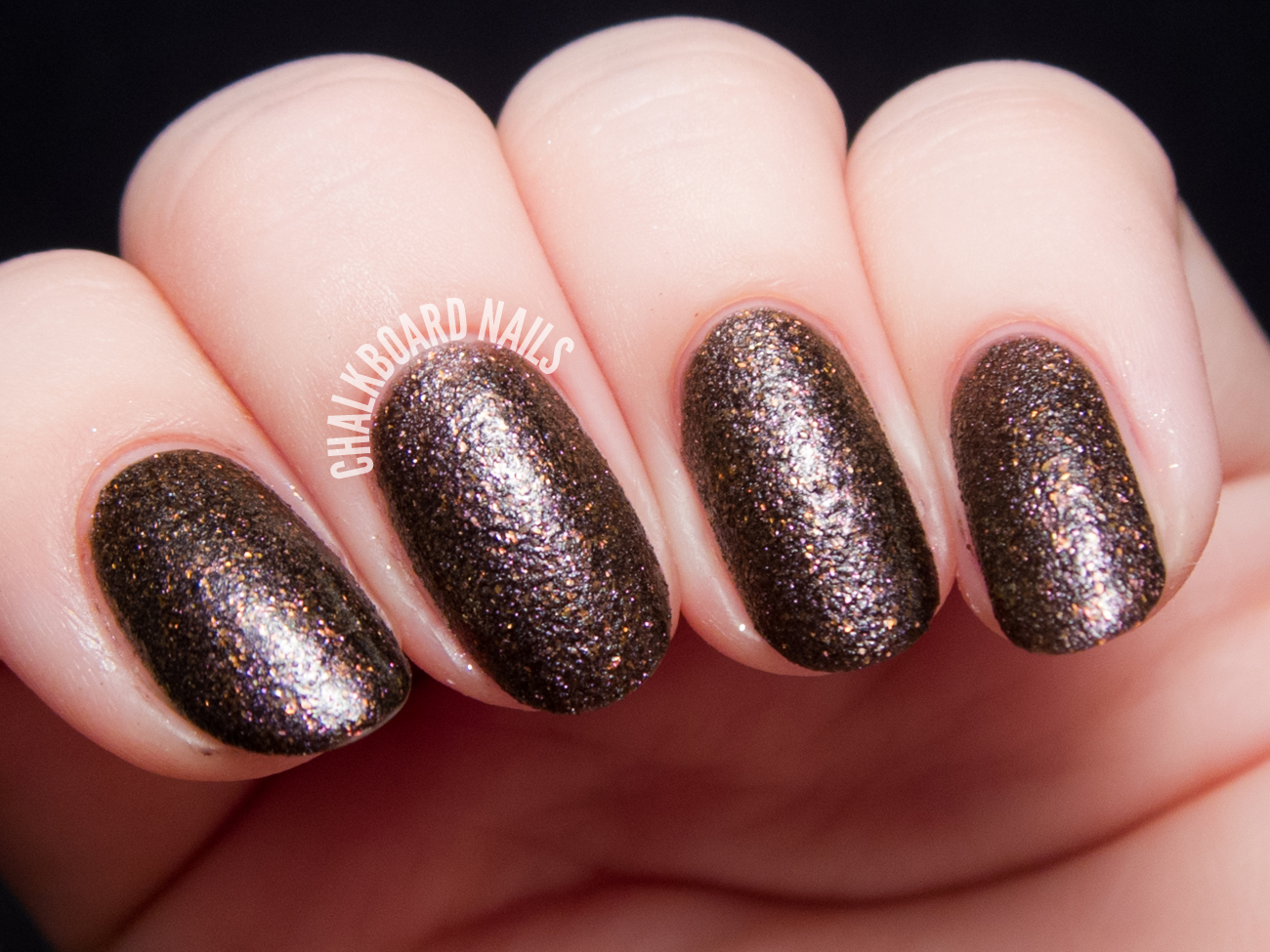 Color Club Fierce via @chalkboardnails