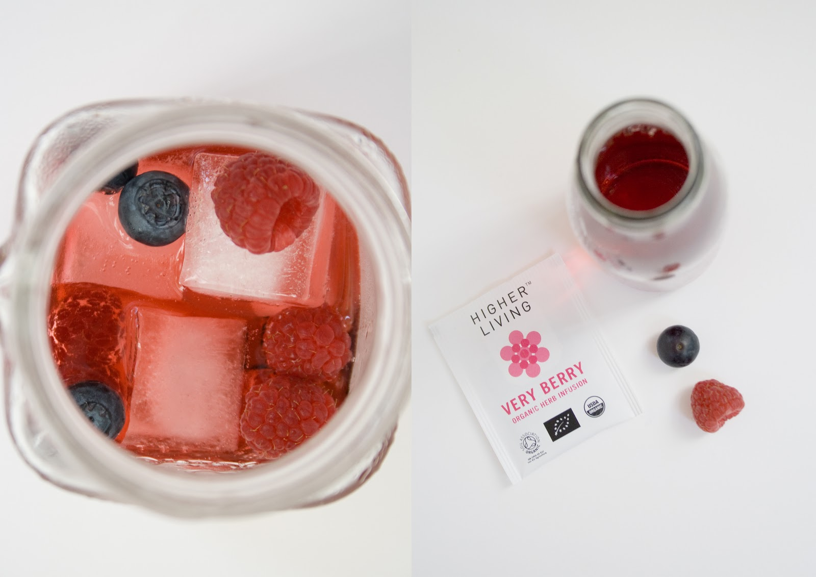 Iced Tea mit Früchten