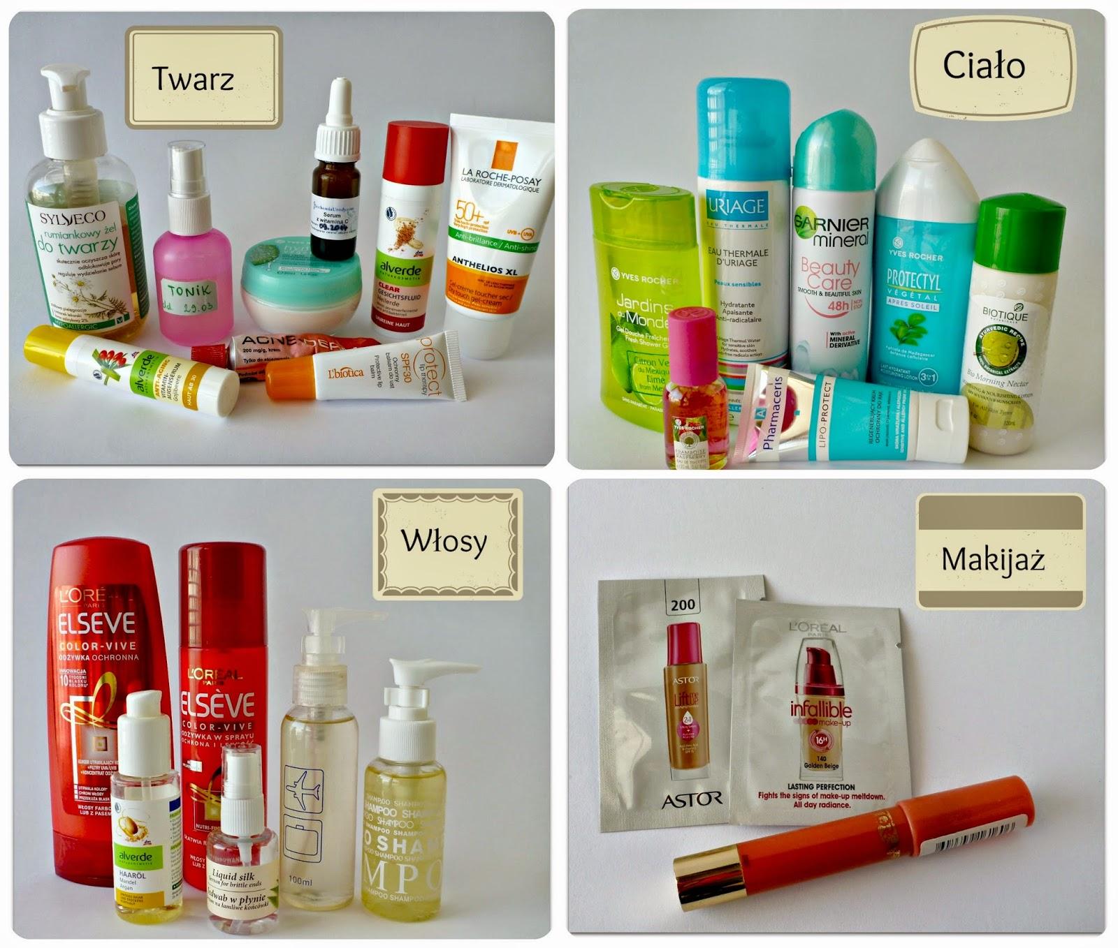 Kosmetyki w tropiki - co się sprawdziło, a co nie