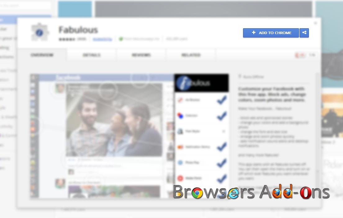 access facebook messages through google